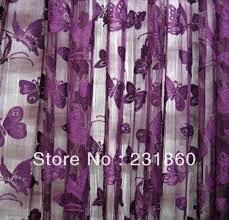 Purple Design Curtains Purple Butterfly Curtains Decorating Mellanie Design