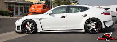 porsche panamera bodykit porsche panamera kit buyers guide duraflex kits