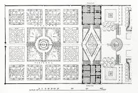 triggs garden craft 1913 page 47 b plan of villa lante modified