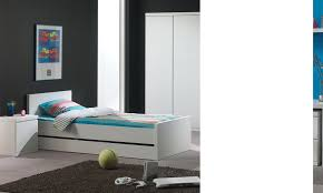 chambre e chambre à coucher enfant complète design lorene coloris blanc