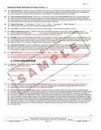the arizona residential real estate contract new u0026 improved