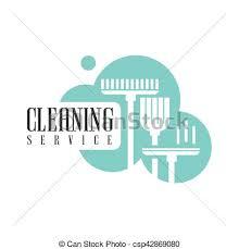 bureau service location bureau service logo maison balai lavette
