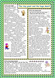 44 free esl fairy tales worksheets