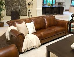 rustic living room furniture ideas with brown leather sofa leather world brown top grain sofa in couch rustic design f with