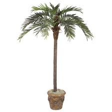10 foot artificial coconut palm tree potted p 8260 montauk surf
