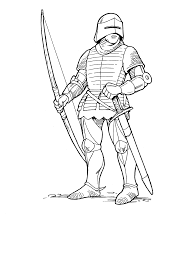coloring page norman archer