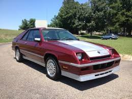 1986 dodge charger shelby turbo for sale find used 1986 dodge shelby charger turbo five speed in ringgold