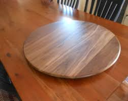 wood lazy susan etsy
