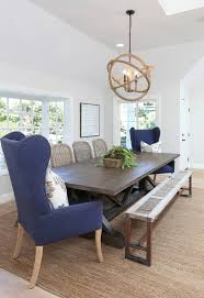 High Back Chairs For Dining Room Wingback Dining Chair In Dining Room Style With Dunn Edwards