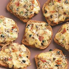 cheese rye appetizers recipe taste of home