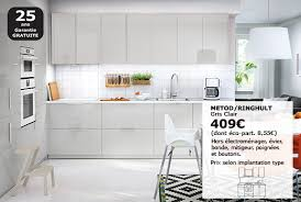 prix cuisine ikea meuble haut cuisine système metod ikea
