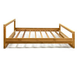 platform beds mino light teak bed reclaimed teak furniture