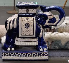 Porcelain Elephant by Porcelain Elephant Stool Google Search Coastal Home Interiors