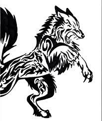 tatoo design tribal angry tribal wolf tattoo design viking and tribal art