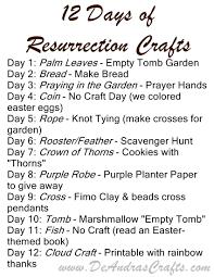 12 days of resurrection crafts deandras crafts