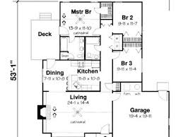 3 bedroom bungalow floor plans bungalow santa monica