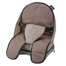 siege rehausseur chaise rehausseur gonflable beige noir de beaba réhausseurs aubert
