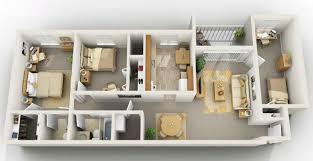 2 Bedroom Design Two Bedroom With Den Apartment In Blacksburg Va 2 Bedroom With