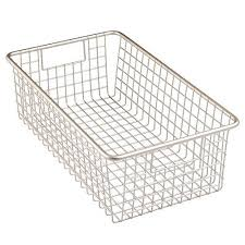 Kitchen Cabinets Baskets Stainless Steel Wire Basket Amazon Com