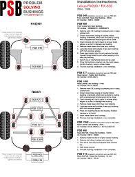 lexus rx330 steering rack lexus rx psbushings