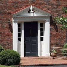 colonial front porch designs 25 best front porch entrance images on front doors