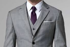 do the colors purple gray match well in clothes fashion shirt and tie combinations with a grey suit the idle man