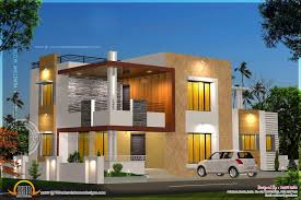 kerala home design dubai home design floor plan and elevation of modern house kerala home