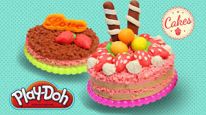play doh cake party playdough cake maker learn colors creative