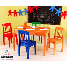 kidkraft euro honey kids 5 piece table and chair set walmart com