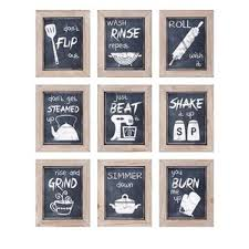 Kitchen Wall Decor by Kitchen Dining Wall
