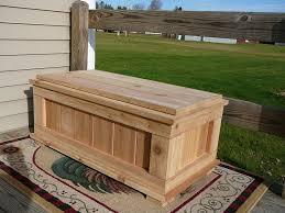 cedar deck box plans the best deck storage box for your deck or