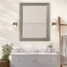 Beveled Bathroom Vanity Mirror Beveled Edge Vanity Mirror Wayfair