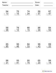 collections of math problems for 6th graders worksheets bridal