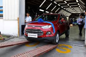 renault vietnam ford ecosport assembly begins in vietnam