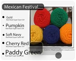 color combo diva dan s 70 red heart super saver color combos the crochet crowd
