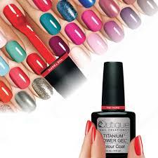 qutique titanium power gel nail polish