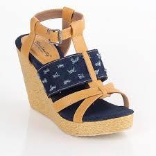 Jual Wedges jual sandal wedges wanita lla 871 murah dealgan shop