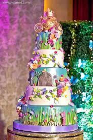 gorgeous floral garden cake from an enchanted garden princess