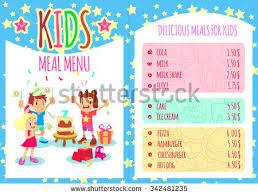 summer kids camp template banner flyer stock vector 427982614