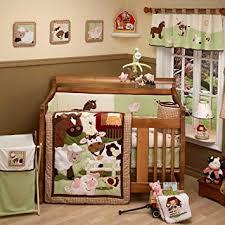 Farm Crib Bedding Nojo Farm Babies 4 Baby Crib Bedding Set Baby