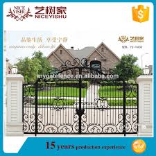 new design of modern main gate designs boundary wall gates