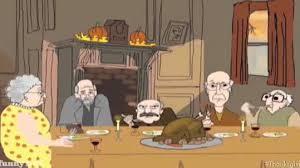 larry david recalls thanksgiving day memories in animated