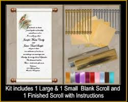 diy scroll invitations custom scroll invitations for weddings and special events