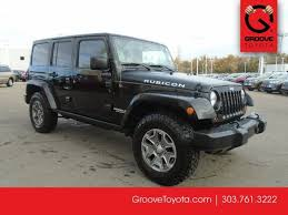 2013 jeep wrangler for sale used 2013 jeep wrangler unlimited rubicon for sale denver co g4031418a