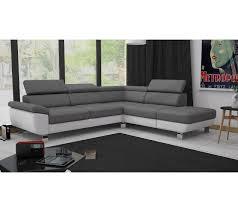 canapé angle gris blanc angle réversible william ii pu blanc gris faux plafond salon faux