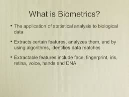 investigation of two licensed biometric products using