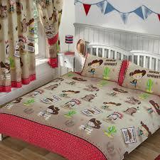 disney girls bedding kids double duvet cover sets dinosaur army birds unicorn boys
