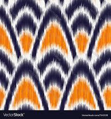 ikat pattern royalty free vector image vectorstock