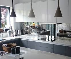 mirror backsplash kitchen 11 best kitchens images on mirror splashback antique