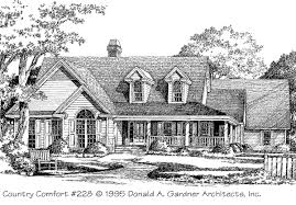 Southern Living House Plans Country Comfort Donald A Gardner Architects Inc Southern